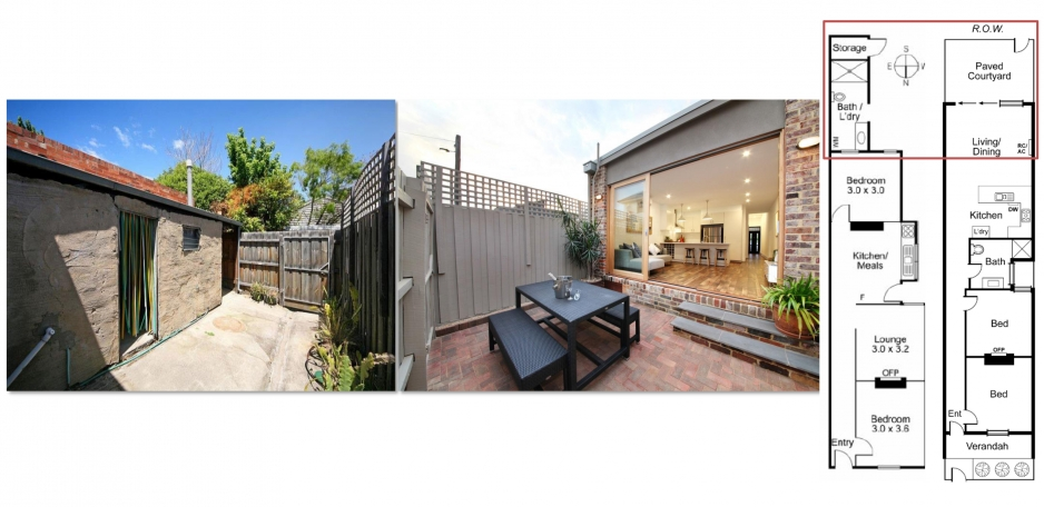 Before  and  After  _  Backyard